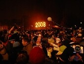 New Year's celebrations Foto