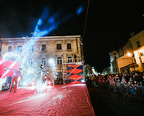 "pokaz fireshow ""Fire Party"""