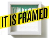 Wystawa: It Is Framed Foto