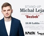 Stand-up comedy show: Michał Leja | Plakat