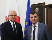 Mayor of the City of Khmelnytskyi (Ukraine) visits Lublin Foto