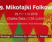 Poster of St Nicolas Day International Festival of Folk Music 2019