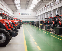 At the Ursus agricultural tractor factory