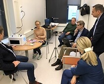 "Discussion on ""ProVaHealth – Product Validation in Health"" project in Finland"