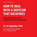 "Invitation to the Conference ""How to deal with a shotgun...."", September 23 –... Foto"