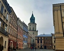 The Old Town in Lublin...