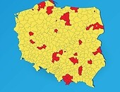 "The whole of Poland becomes ""the yellow zone"" as of October, 10 (with exception of the red zones)"