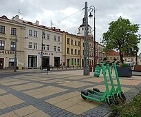 Scooters in Lublin