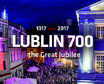Lublin 700,the Great Jubilee, banner