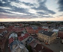 Panorama of Lublin