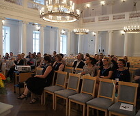 Study visit to the EHL awarded sites – facilities at the University of Tartu.