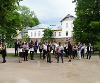 Visit to the University of Tartu.