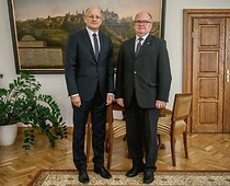 Meeting of H.E. dr. Thomas M. Buchsbaum, Ambassador of Austria to Poland, and Mayor...