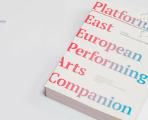 The cover of the following publication: Platform. East European Performing Arts...