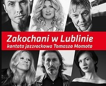 "Poster announcing the ""Zakochani w Lublinie"" concert"