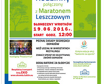 Lublin: XI Ekopiknik Rodzinny połączony z Maratonem Leszczowym
