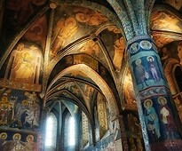 Frescoes in the Holy Trinity Chapel at the Lublin Castle