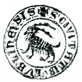 The oldest image of the city coat of arms of Lublin