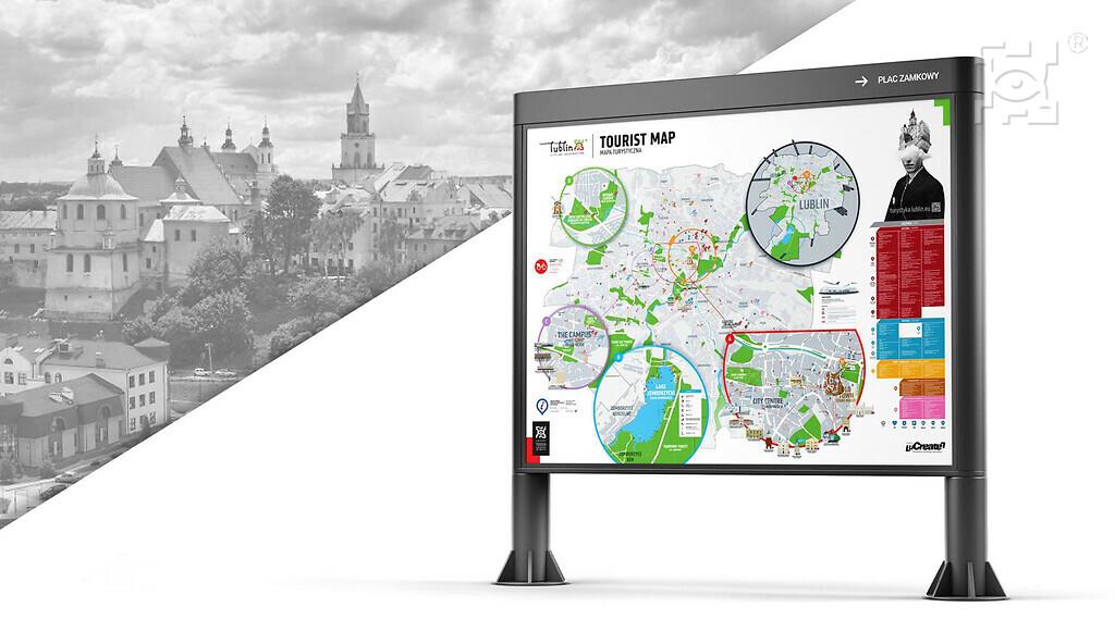 Wizualizacja mapy w gablocie