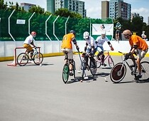 Sportival 2016 - mecz bike polo.3
