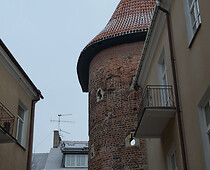 The Gothic Tower (The Semi-circular Tower)