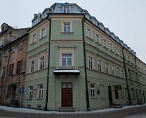 The old residence of the Central Committee of Polish Jews and the Provincial Committee of Lublin Jews