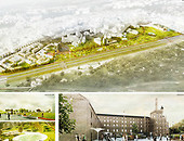 Plans for green areas surrounding the Lublin Castle announced Foto