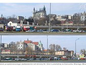 New green areas with the market by the Lublin Castle Foto