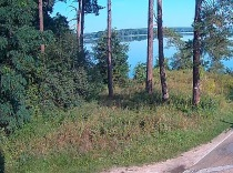 A view on the Zemborzycki Zalew lake