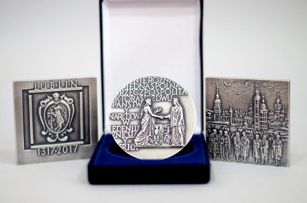 Medale 700-lecia Miasta Lublin oraz Unii Lubelskiej