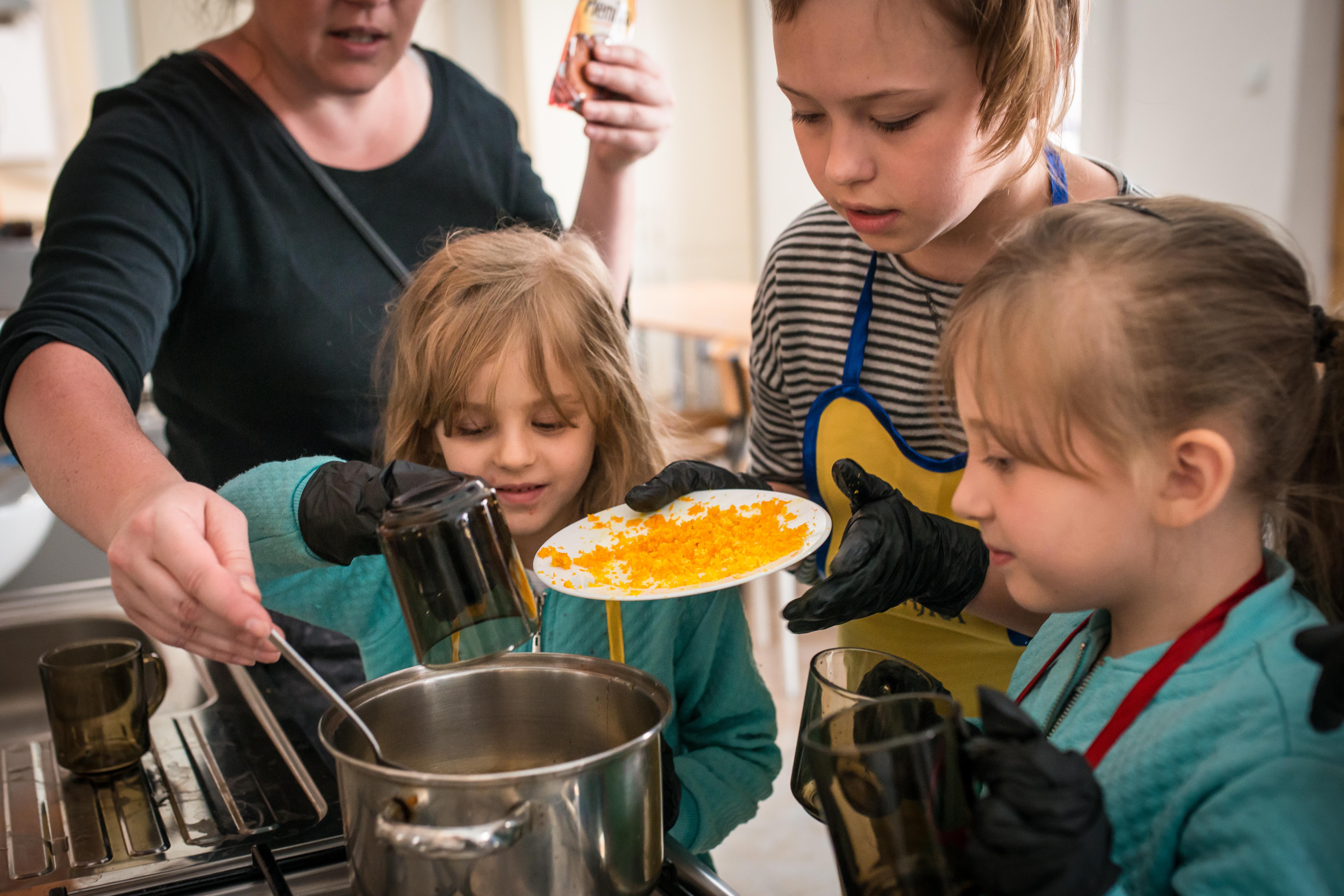 Lublin ze smakiem. Smaki naszych pradziadków - warsztaty kulinarne dla dzieci