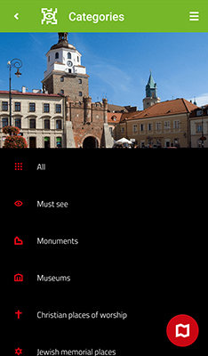 Mobile Application Visit Lublin