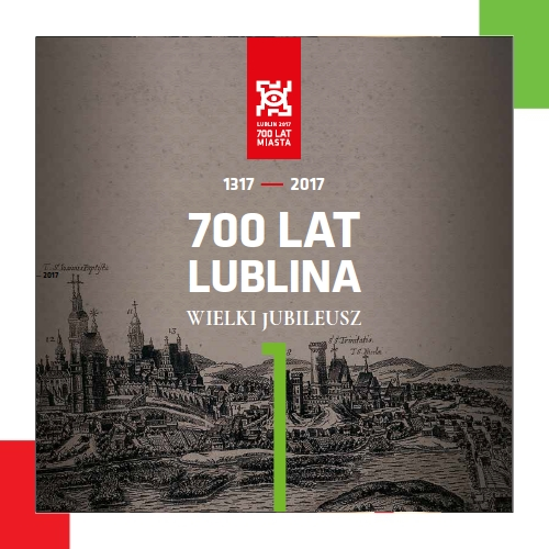 00th anniversary of the city of Lublin - Brochure